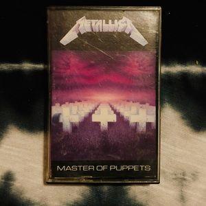 🔥 METALLICA 🔥 MASTER OF PUPPETS cassette tape